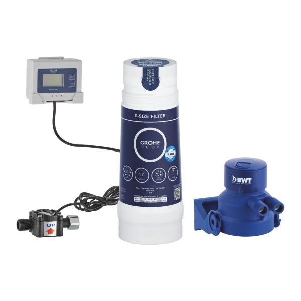 Grohe sistema filtrante con testata, cartuccia filtrante a 5 fasi e sensore cambia filtro - 40438001