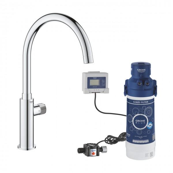 Grohe Blue Pure Mono rubinetto per lavello 31724000 con sistema filtrante 40438001