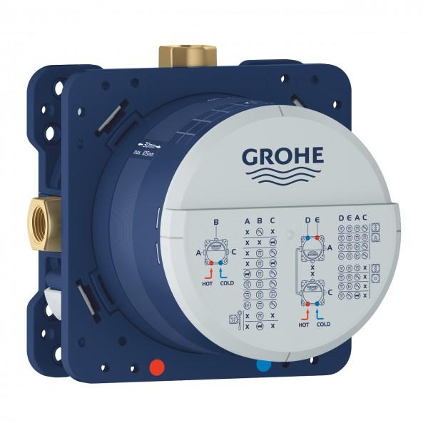 Grohe 24095001 Lineare New Miscelatore Monocomando a 3 Vie con Deviatore