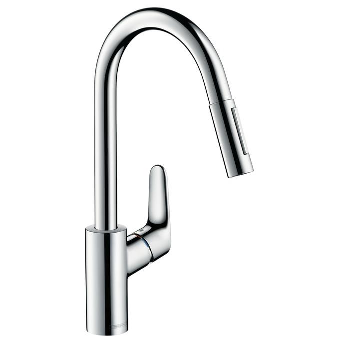 Hansgrohe miscelatore cucina focus estraibile 31815000 vendita online italia - Hansgrohe rubinetti cucina ...