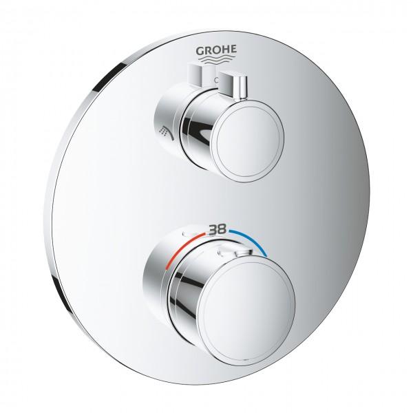 miscelatore termostatico Grohe Grohtherm per doccia con deviatore a 2 vie - 24076000