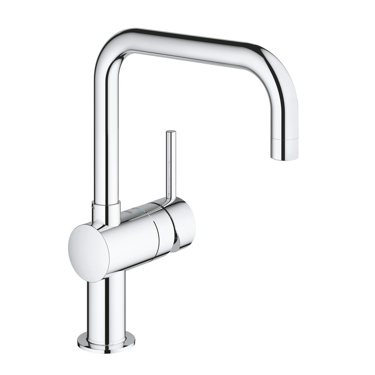 Grohe Minta miscelatore monocomando per lavello cucina con bocca alta  girevole - 32488000