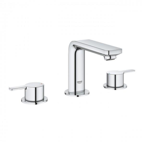 Grohe lineare new cromo miscelatore lavabo tre fori