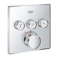 miscelatore termostatico Grohe Grohtherm SmartControl per doccia a 3 vie, finitura cromo - 29126000