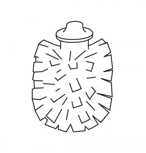 scovolo di ricambio per portascopino Inda Lea - R19140