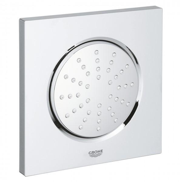 soffione doccia laterale Grohe Rainshower F-Series 127x127 mm con corpo incasso - 27251000