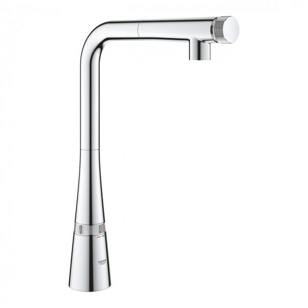 Grohe Zedra SmartControl miscelatore per lavello cucina con doccino  estraibile, cromato - 31593002