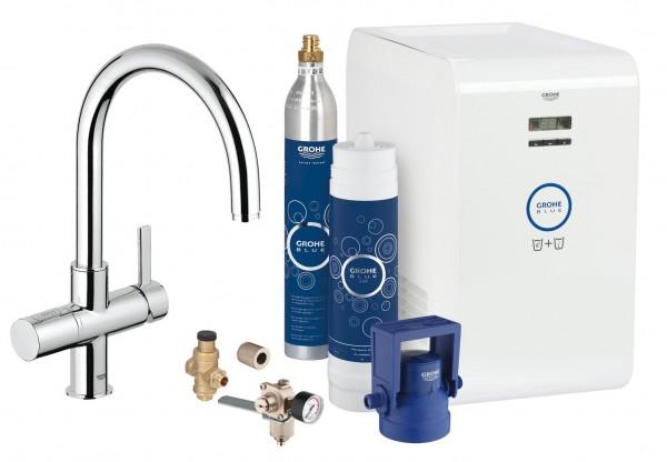 miscelatore Grohe Blue Professional F&G con sistema filtrante - 31323001