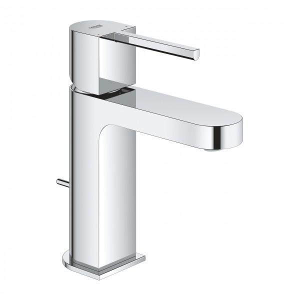 Grohe Plus miscelatore monocomando per lavabo taglia S con piletta scarico a tirante, cromato - 32612003