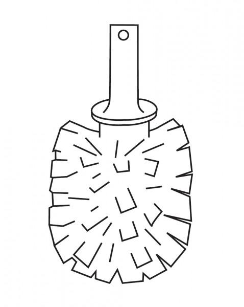 scovolo di ricambio per portascopino Inda - R38140023
