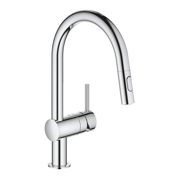 Grohe Minta 32321002 miscelatore monocomando per lavello cucina, con ...