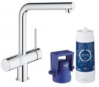 miscelatore Grohe Blue Minta Pure con sistema filtrante - 31345002
