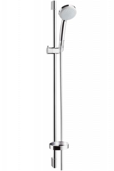 set asta doccia hansgrohe croma 100 vario 90 cm 27771000 vendita online italia. Black Bedroom Furniture Sets. Home Design Ideas