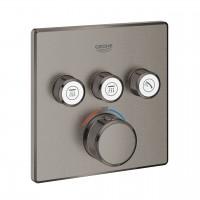 miscelatore termostatico a 3 vie Grohe Grohtherm SmartControl, finitura grafite spazzolato - 29126AL0