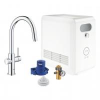 miscelatore lavello Grohe Blue Professional con sistema filtrante e WIFI - 31325002