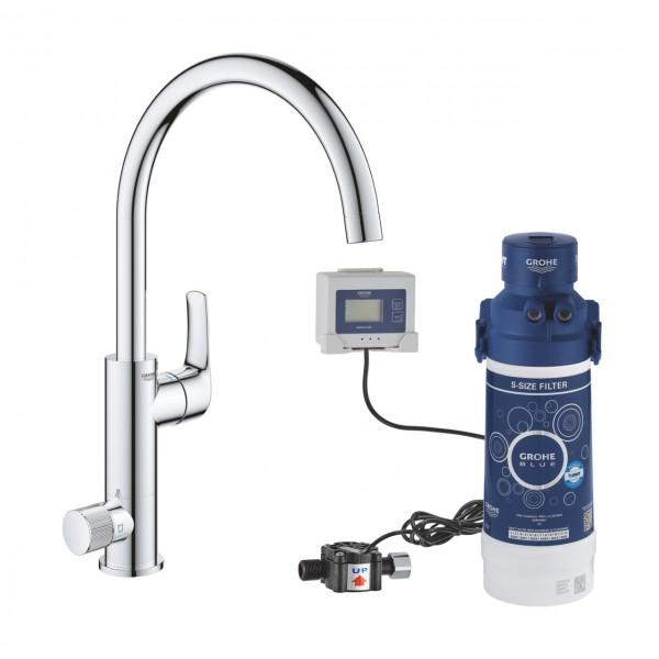 Grohe Blue Pure EuroSmart miscelatore a tre vie per lavello 31722000 con sistema filtrante 40438001