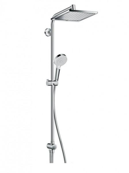 sistema doccia Hansgrohe Crometta E Showerpipe 240 1jet EcoSmart Reno - 27289000
