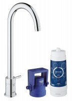 Grohe Blue Mono Pure Starter Kit - 31301001