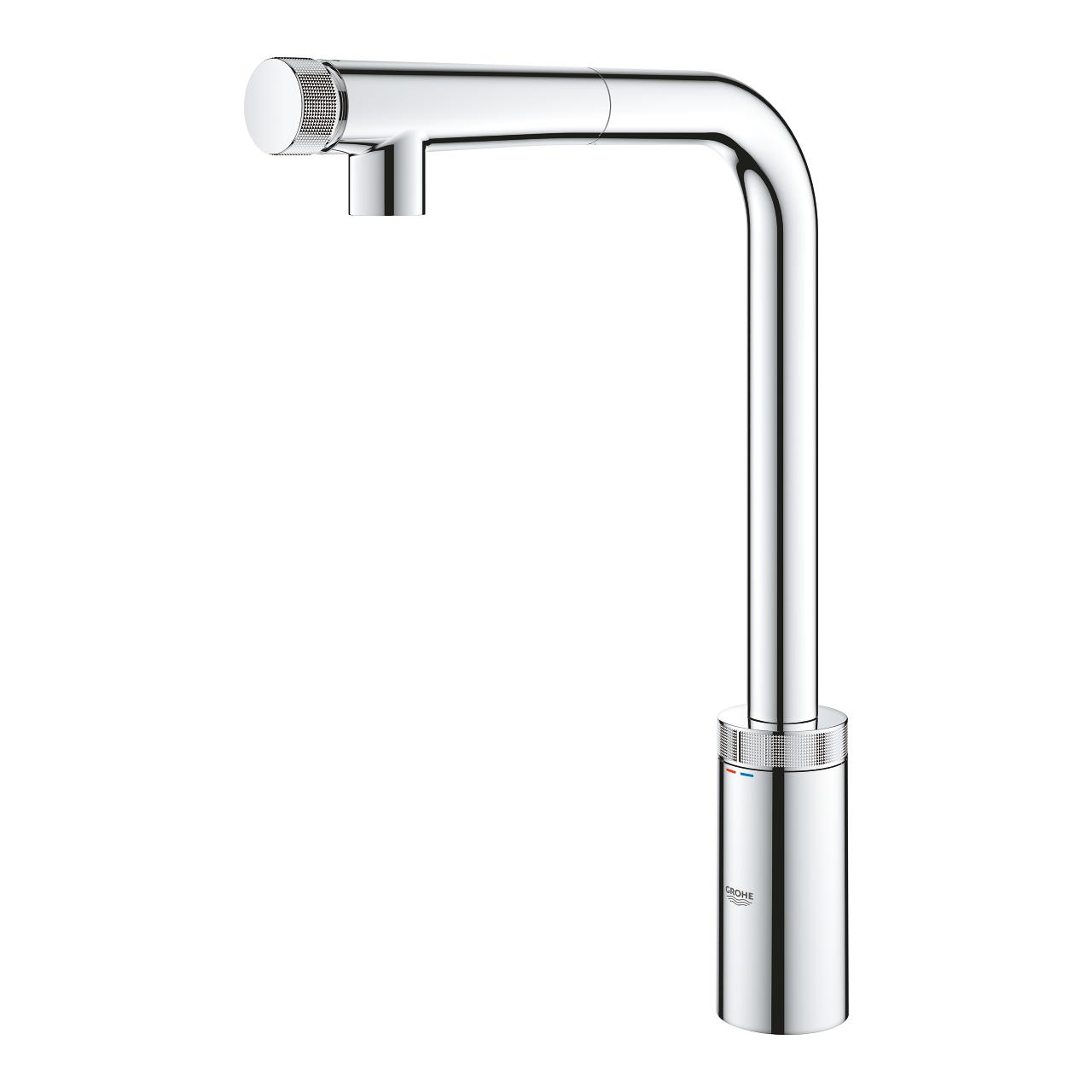 Grohe Minta SmartControl miscelatore per lavello cucina con doccino  estraibile, cromato - 31613000