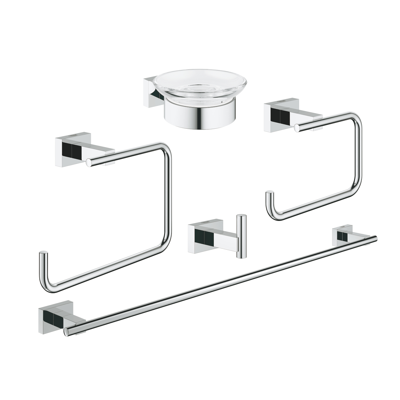 Grohe essentials cube set accessori 40758001 vendita for Vendita on line accessori cucina
