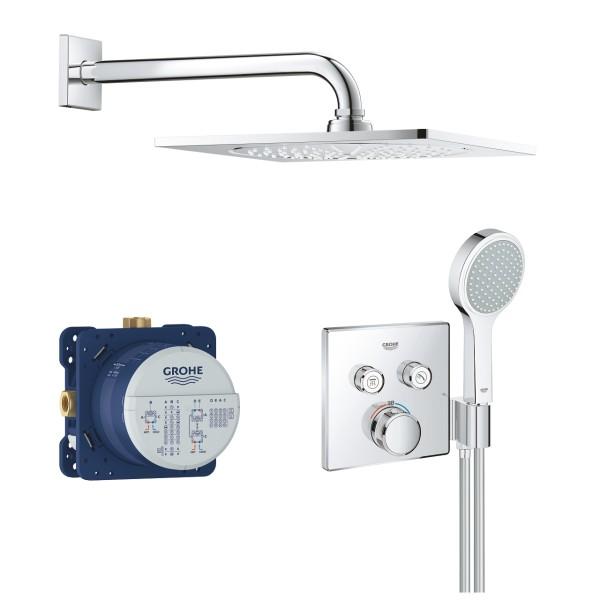 set completo per doccia Grohe Grohtherm SmartControl Rainshower F-Series - 34742000